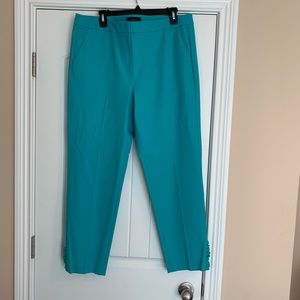 NWT TALBOTS PANTS with RUFFLE DETAIL